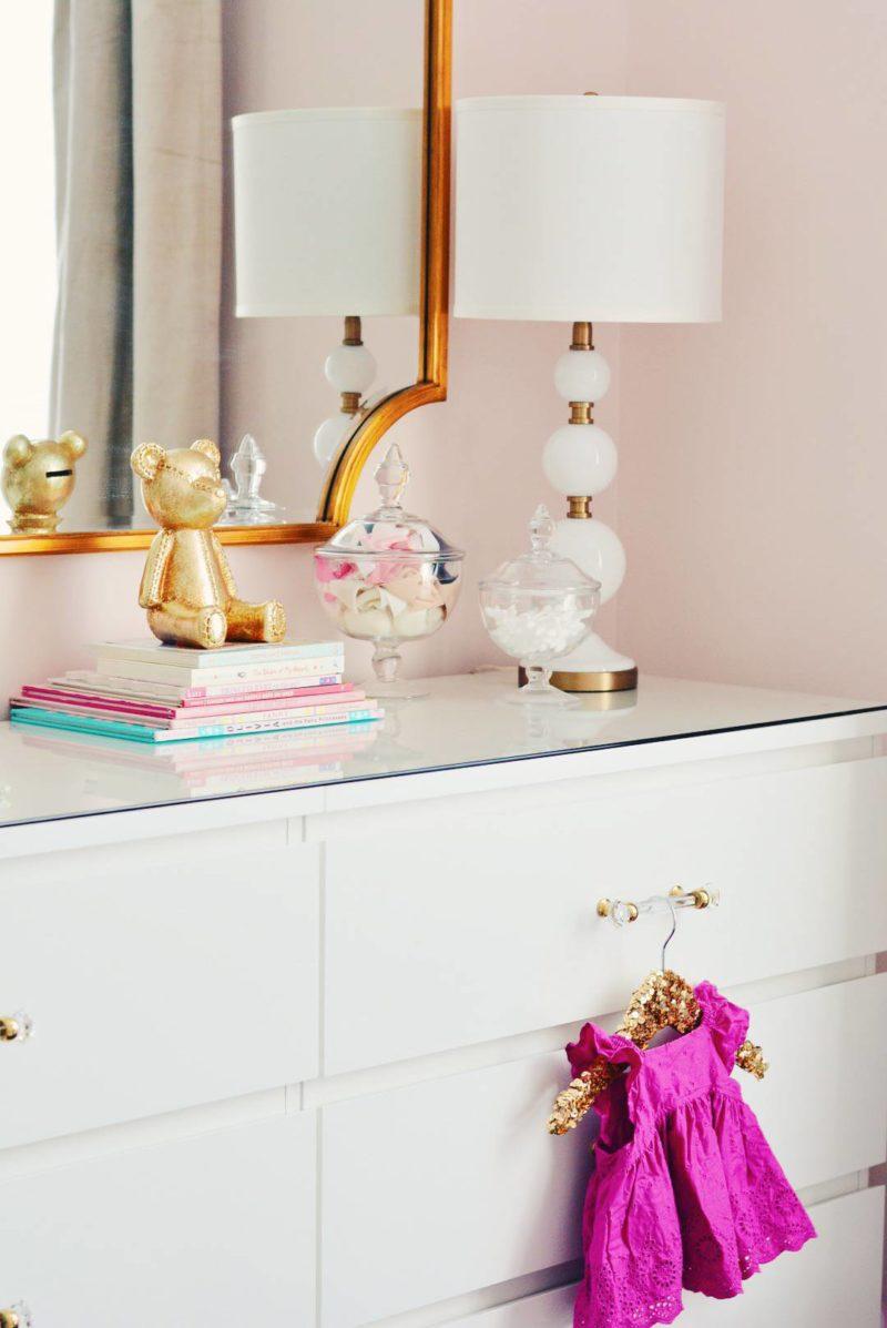 A Super Easy Ikea Dresser Hack - The Pink Dream