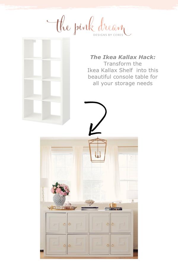 The Best Ikea Kallax Hack With Doors Overlays The Pink Dream