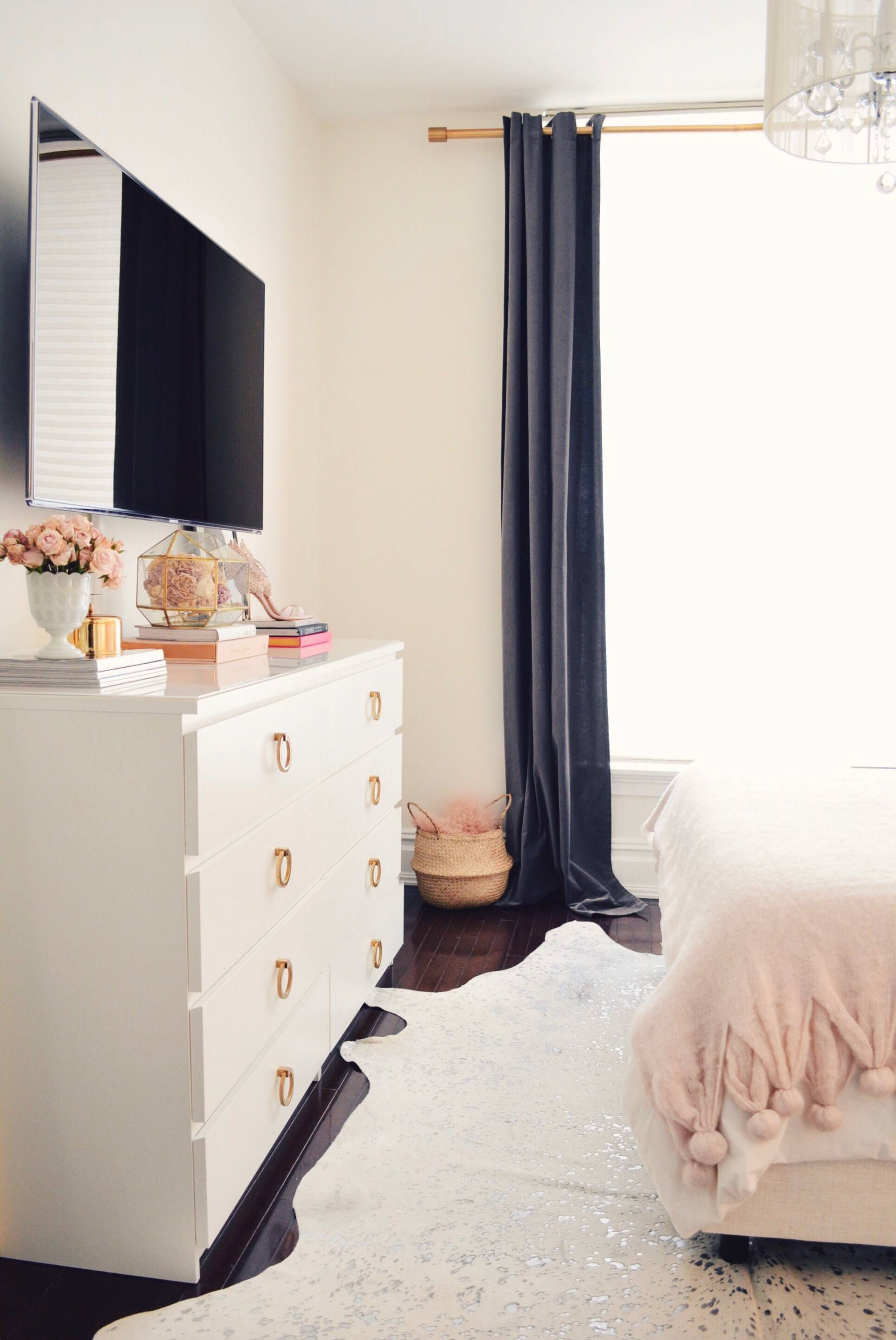 Spring Decor Ideas Bedroom Tour The Pink Dream