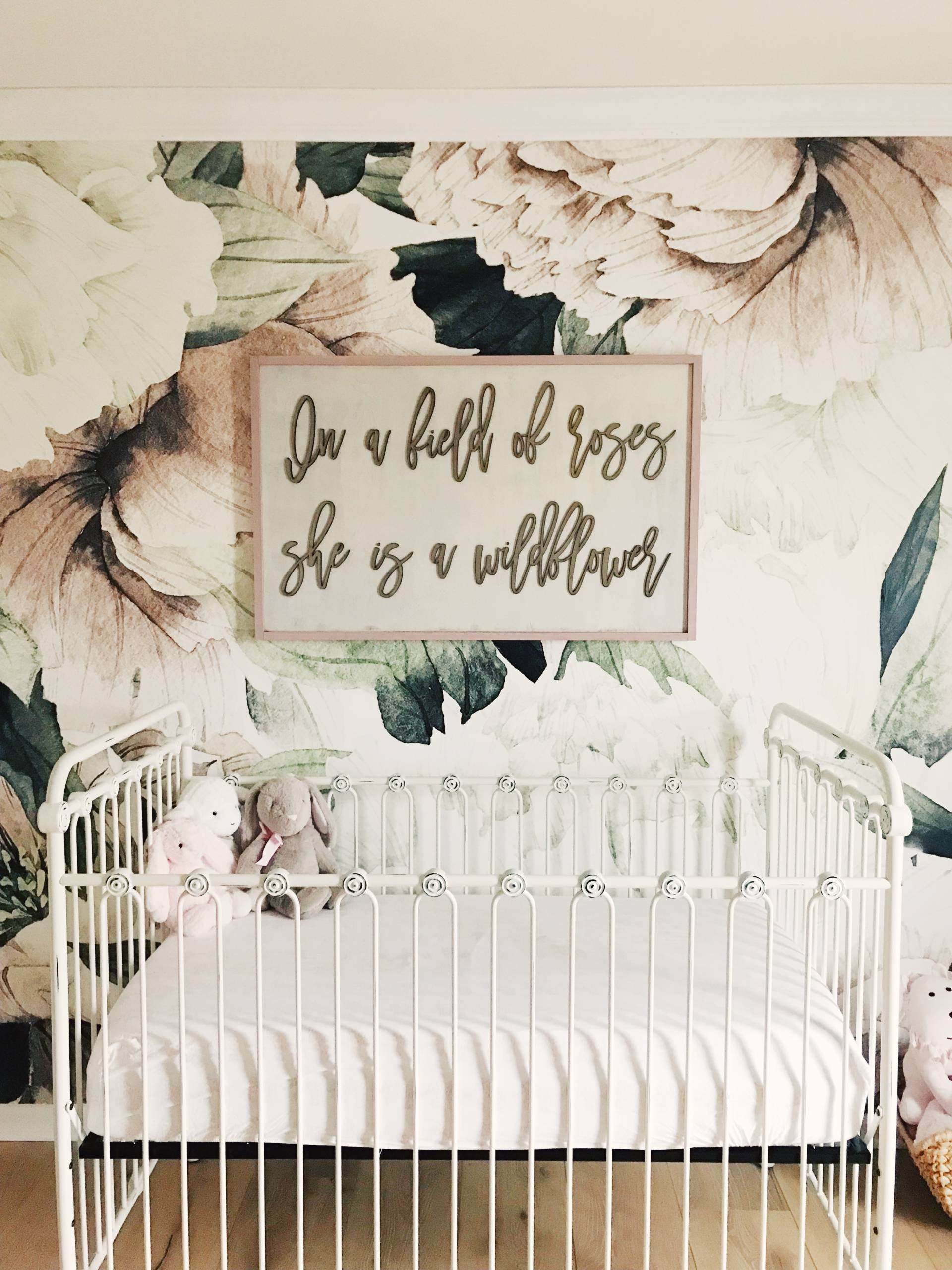 Floral Wallpaper Nursery The Most Gorgeous Floral Wallpaper For A