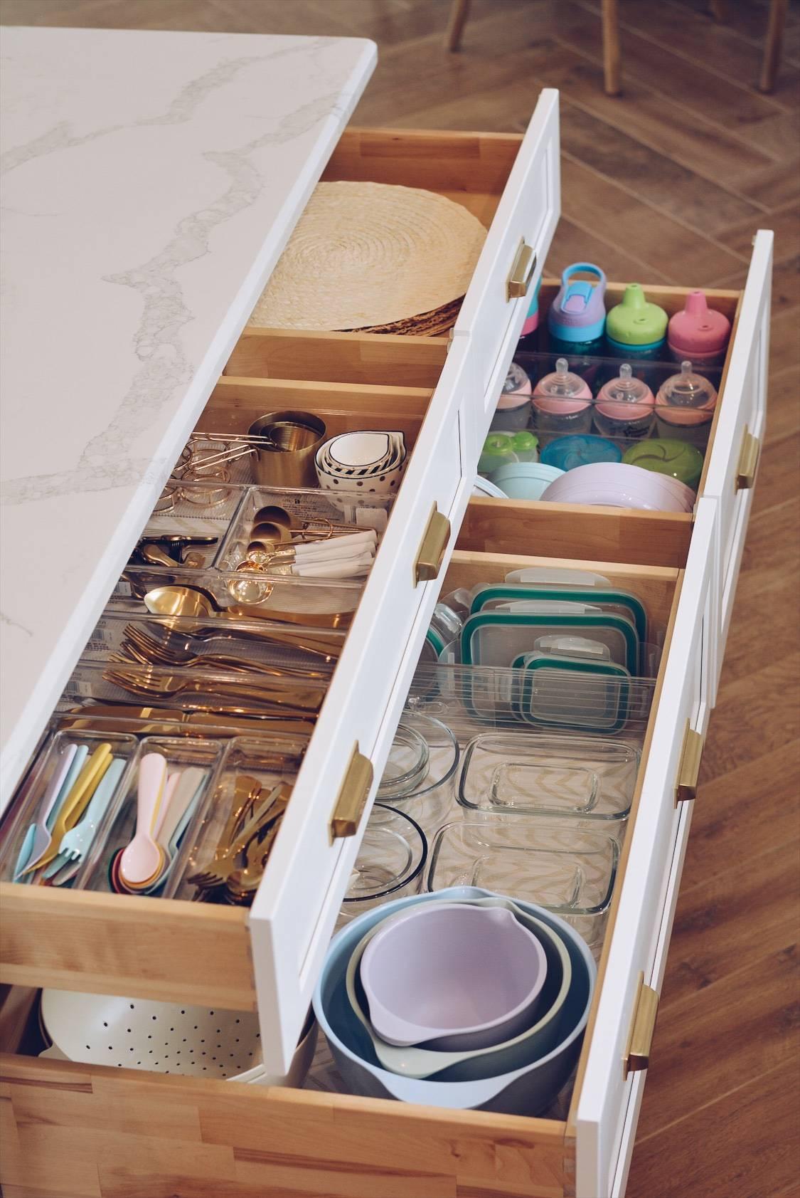 Kitchen Organization: How To Organize Your Kitchen Drawers
