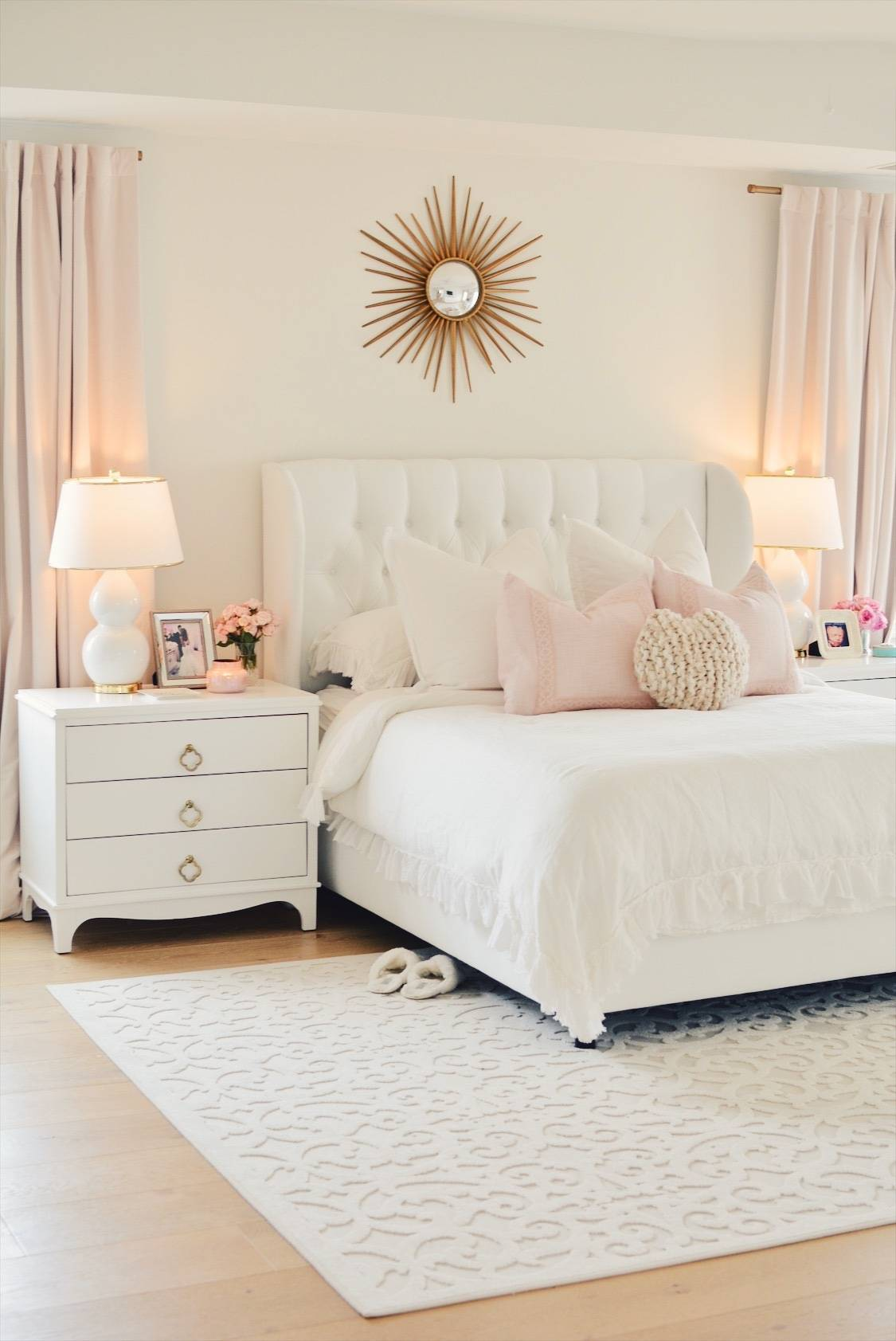 Master Bedroom Rug: Orian Seaborn Rug Review: My New White Master Bedroom Rug