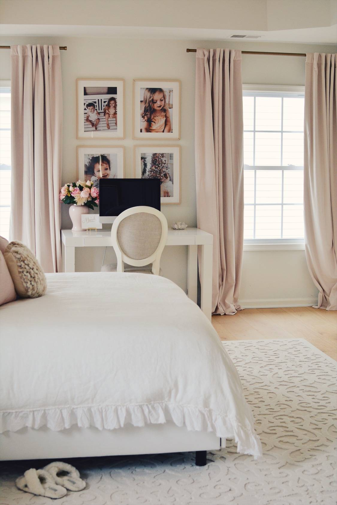 Ikea Hovsta Frames: Creating a Family Gallery Wall - The Pink Dream
