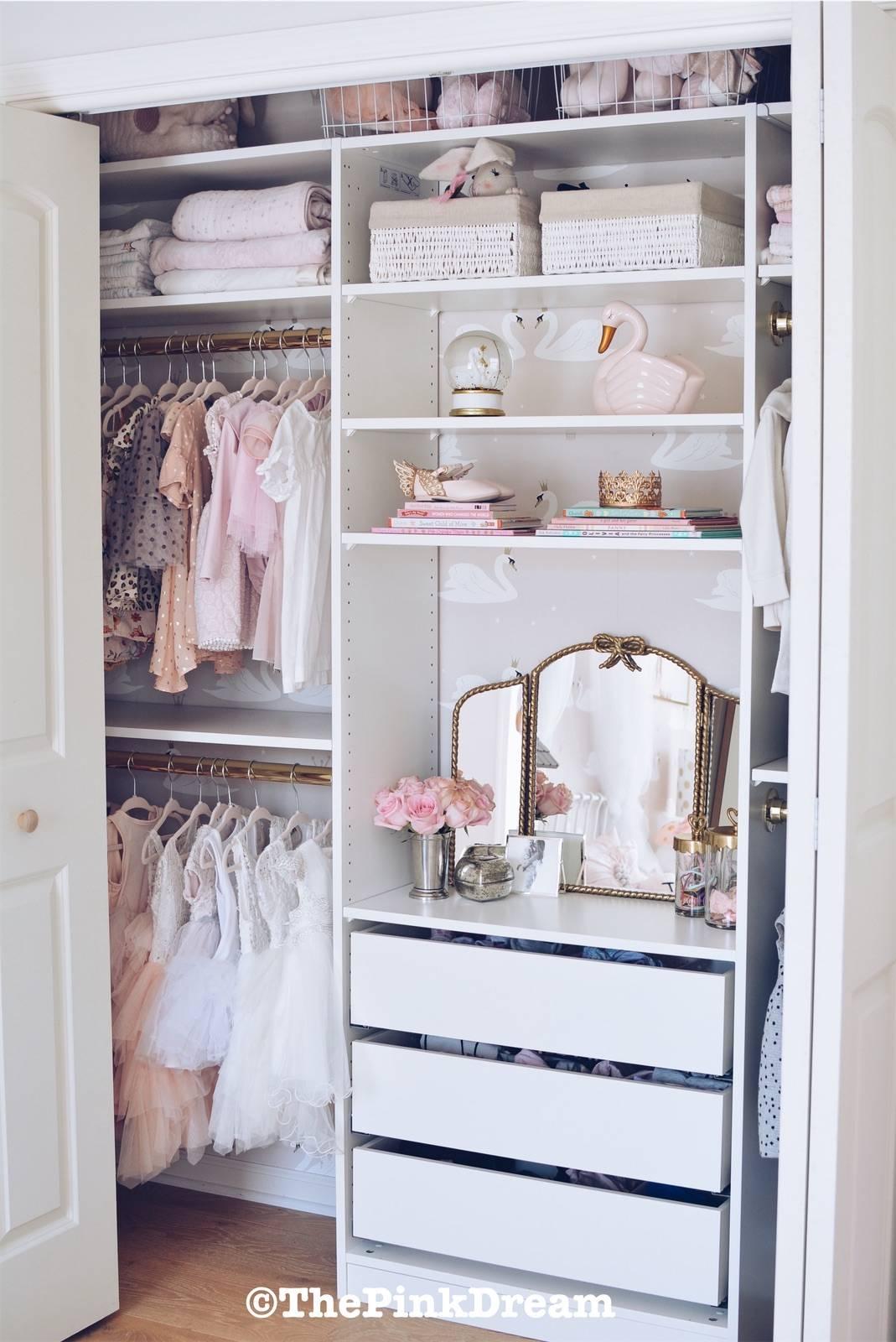 Kids Dresser In Closet